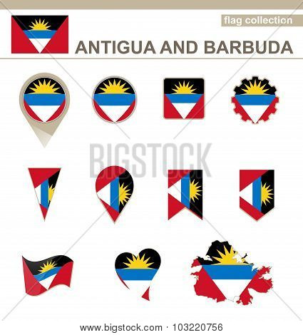 Antigua And Barbuda Flag Collection