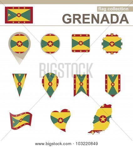 Grenada Flag Collection