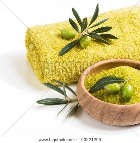 Spa Theme With Olives