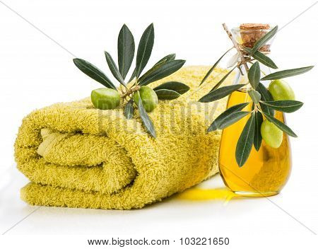 Spa With Olive Oil