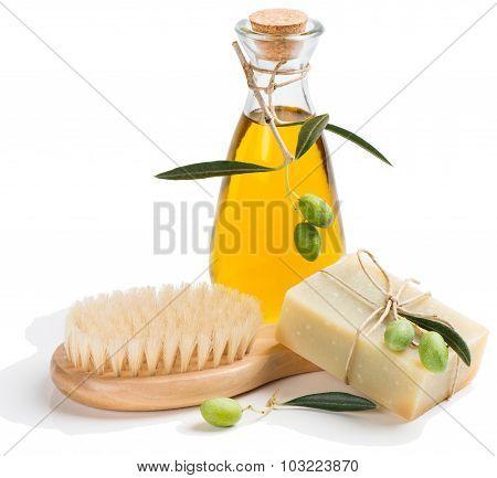 Olive Set For Bathroom
