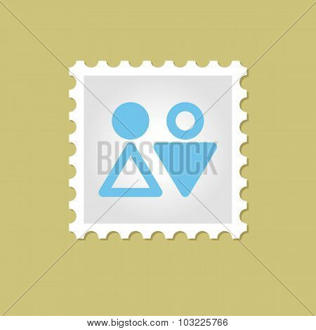 WC vector stamp