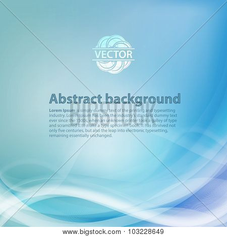 Light blue background with gradient and blend. Business style or