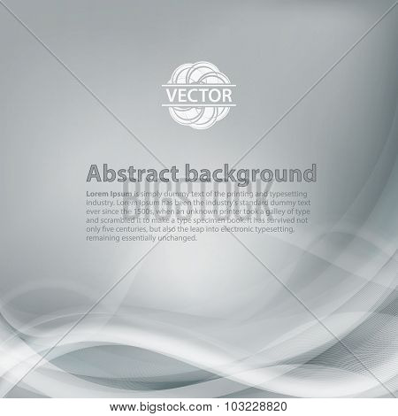 Light grey background with gradient and blend. Business style or