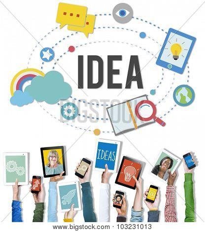 Idea Ideas Imaginatipon Inspiration Objective Goals Concept