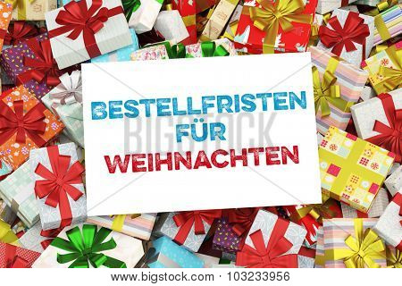German sign saying