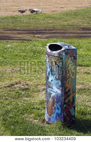 Garbage Bin Graffiti