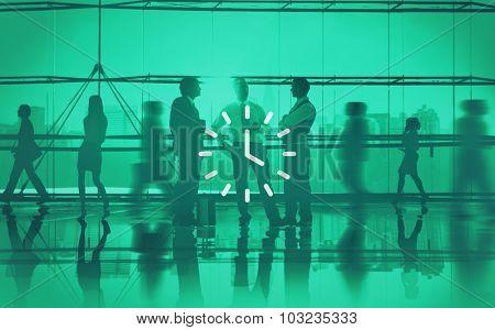 Clock Time Timer Orgarnization Hour Minute Concept