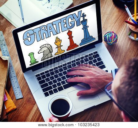 Strategy Thinking Think Planning Plan Objective Concept