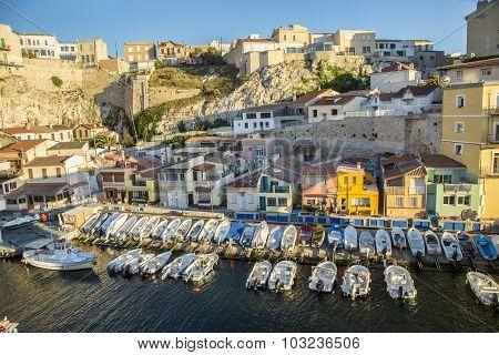 Fishermens Village  Vallons Des Auffes In Marseille