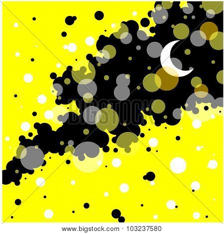 Nights in The Lights Background Clipart