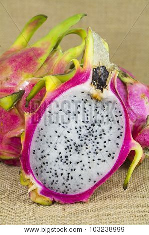 Freash Dragon Fruit