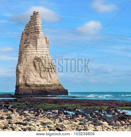 Famouse Etretat cliffs