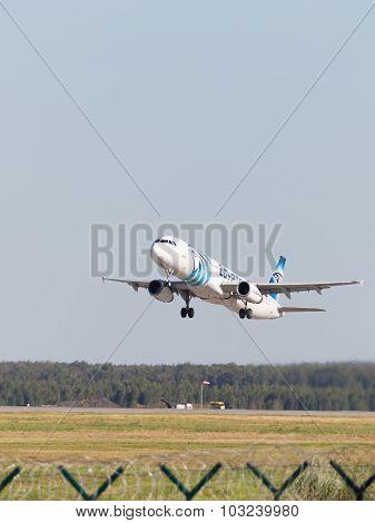 Airbus A321-231 Egyptair Flies