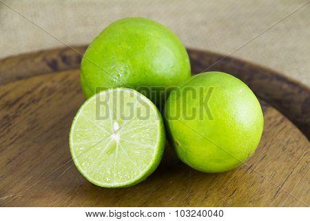 Asia fresh green lemon