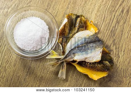 Dry Salted Fish Snack
