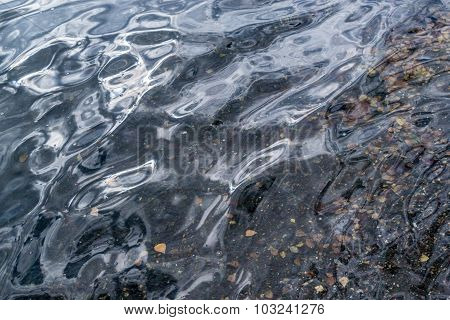 Water Ripples On Surface