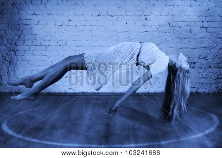 Magic Moment - Girl Levitates