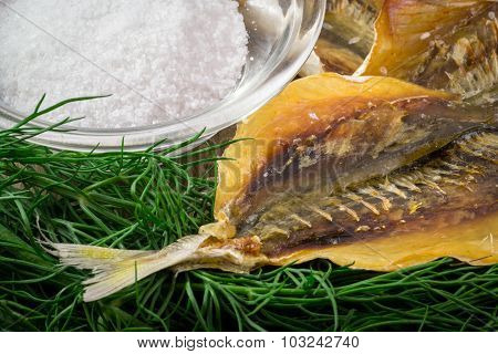 Russian Dry Salted Fish Snack