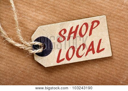 Shop Local Price Tag
