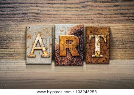 Art Concept Letterpress Theme