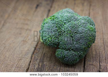 Fresh Organic Broccoli
