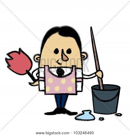 Clean Man