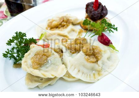 Polish dumplings - pierogi, polish food