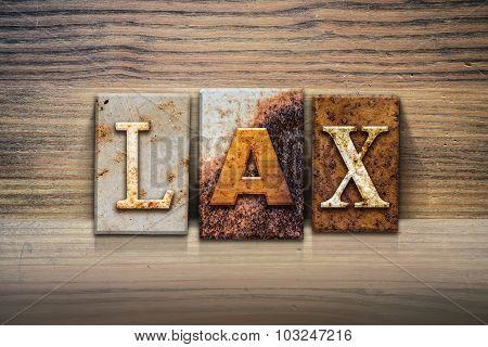 Laxconcept Letterpress Theme
