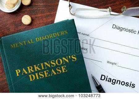 Parkinson's disease concept.