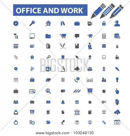 office business documents icons