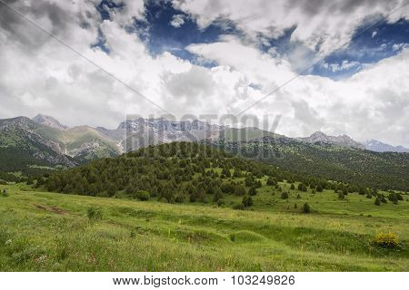 Mountain Batken region