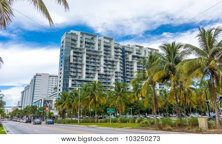 Modern architecture in coastal Florida