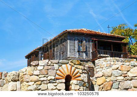 Old Traditional House In Sozopol, Bulgaria