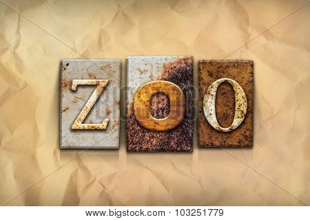 Zoo Concept Rusted Metal Type