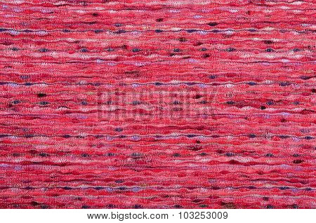 Close Up On Knit Texture Fabric.