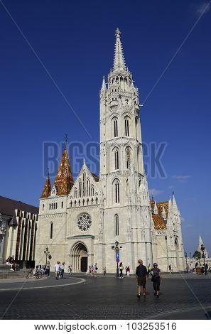 Budapest Matthias Church Editorial