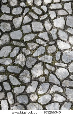 Cobble Stone Surface For Backgrounds