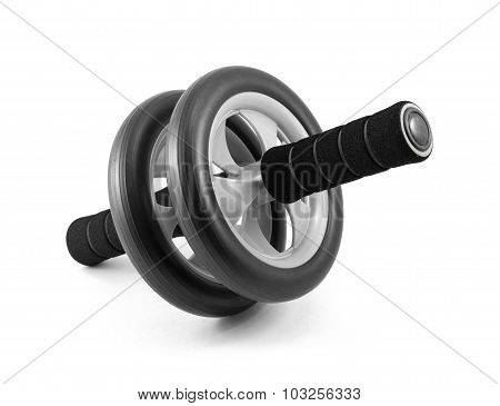 Ab Roller Isolated On White Background