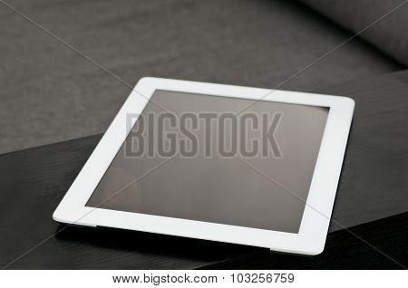 White Tablet Closeup
