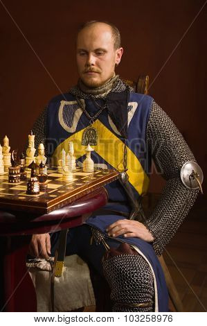 Knight Plays Chess