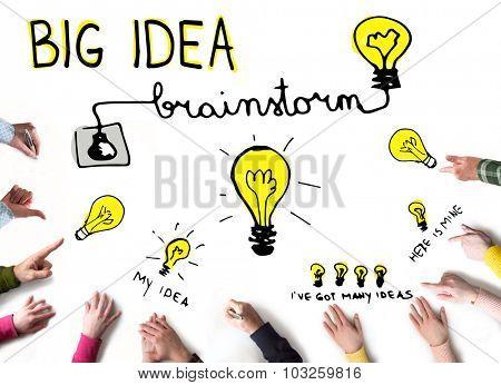 Big Idea concept, Brainstorming