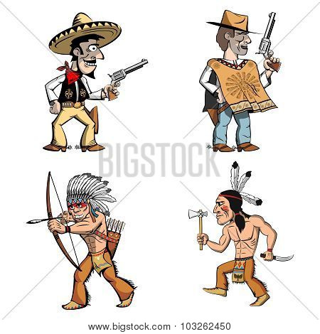 Cowboys indians