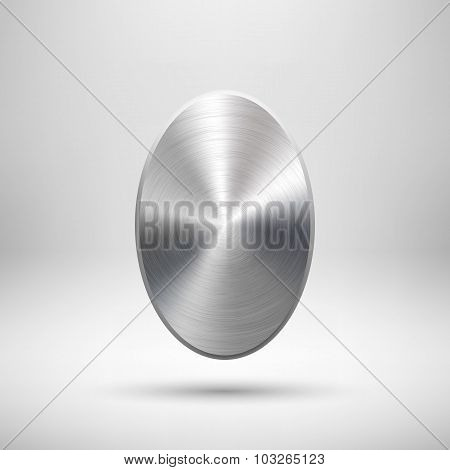 Abstract Badge Template