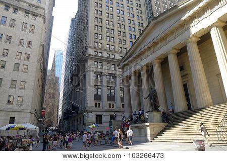 Federal Hall on Wall Street