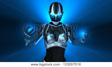 Cyborg female