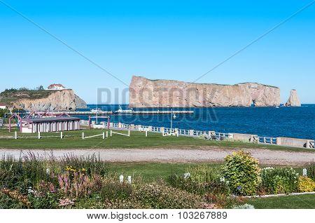 Gaspe Perce Rock And Promenade