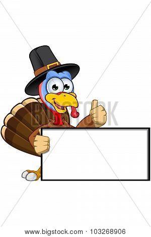 Thanksgiving Turkey Character