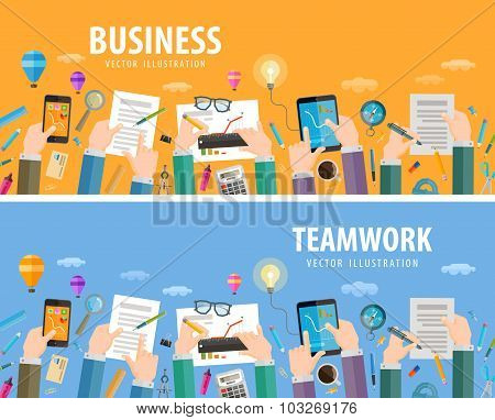 business vector logo design template. teamwork or company icon