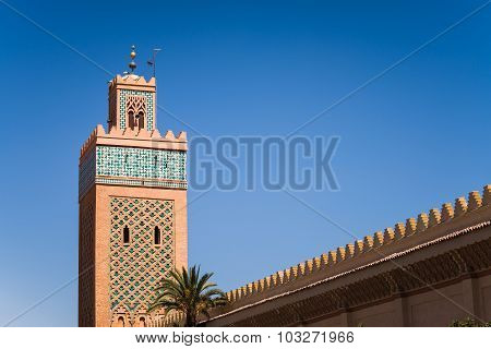 Minaret In Marrakech